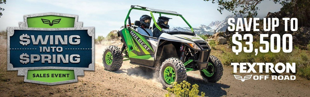 Textron Off-Road - Swing Into Spring - 2018 Models